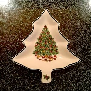 Johnson Brothers Christmas Tree Candy dish